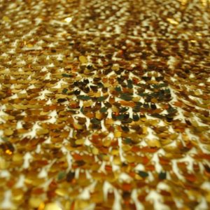 Shiny Gold Sequin Fabric