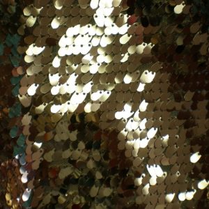 Champagne Sequin Fabric