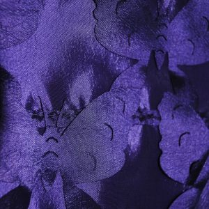 Purple butterflies fabric - Fabric Universe